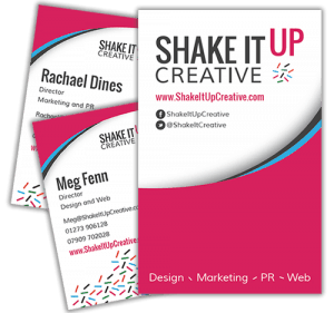 Get in touch with Meg and Rachael of Shake It Up Creative