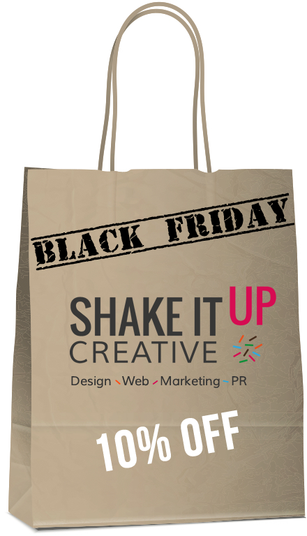 Black Friday deal with Shake It Up Creative