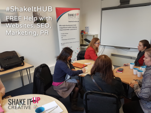 Shake It Hub help session with Shake It Up Creative