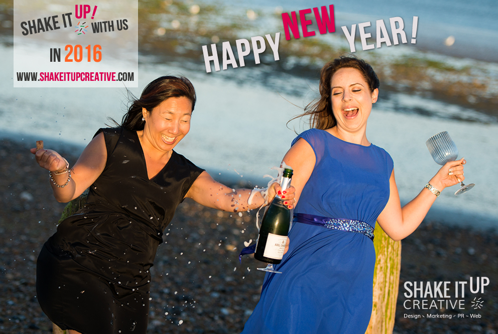 Happy New Year from Shake It Up Creative
