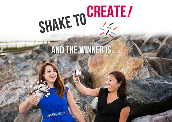 Shake To Create winner