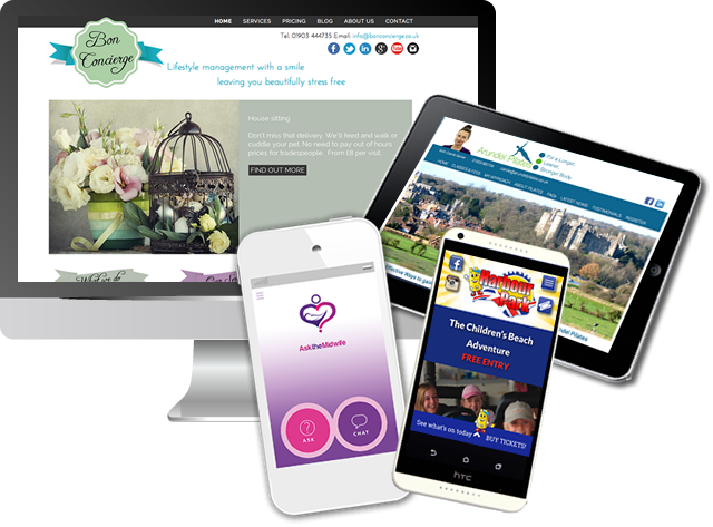 Examples of Website Design Company Sussex