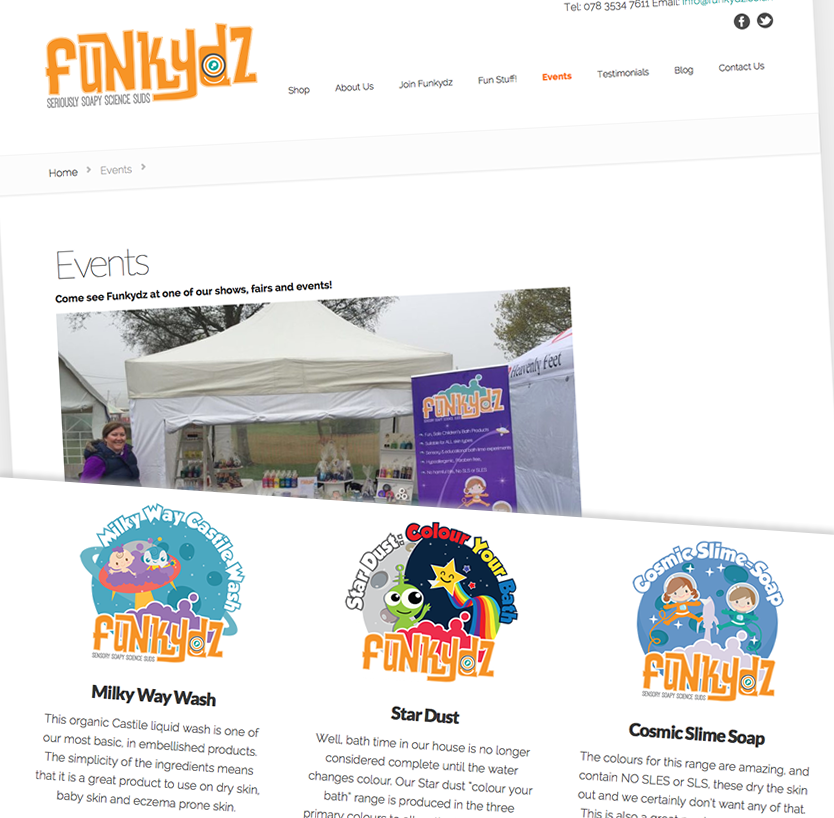 Funkydz website