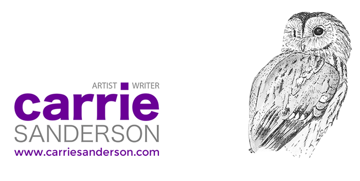Graphic Design for Carrie Sanderson