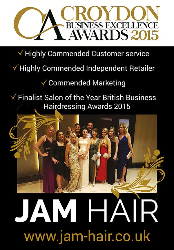 Poster design - Jam Hair