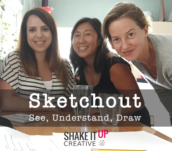 Sketchout won free design and marketing hours with the Shake To Create competition