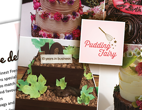 Case study - Pudding Fairy flyer design