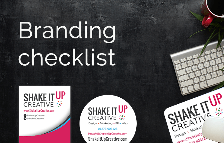 Branding checklist blog Shake It Up Creative