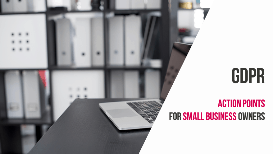 gdpr action points for small business owners