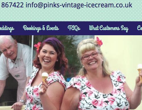 Pudding Fairy website redesign