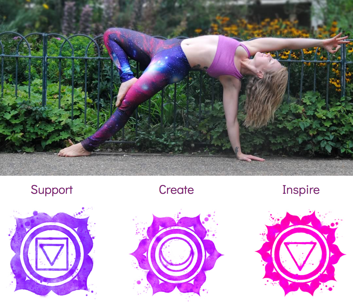 Web design and build for Gem Yoga