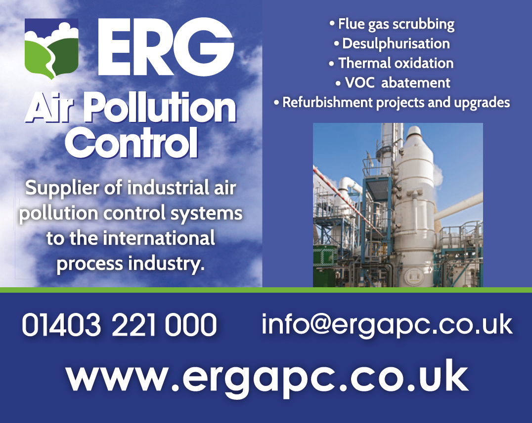 ERG Air Pollution Control advert design