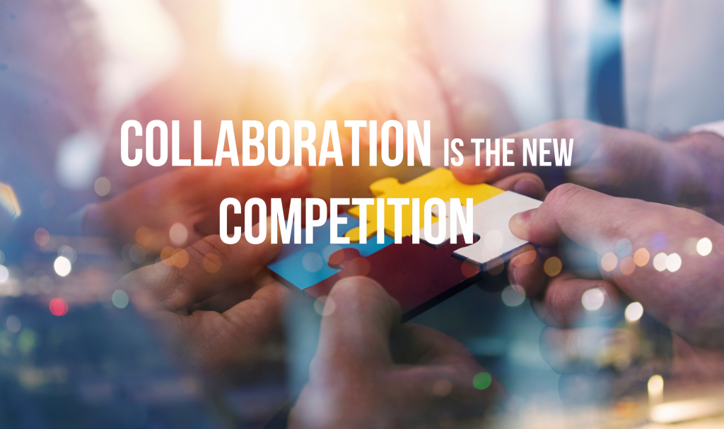 Collaboration is the new competition, graphic.