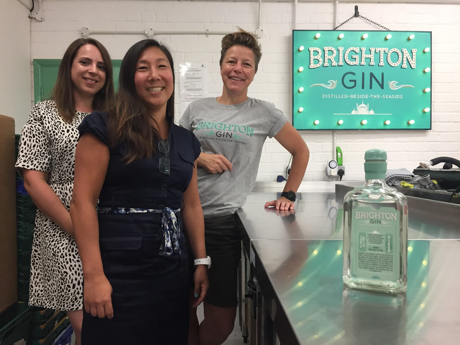 Shake To Create 2019 winner Brighton Gin