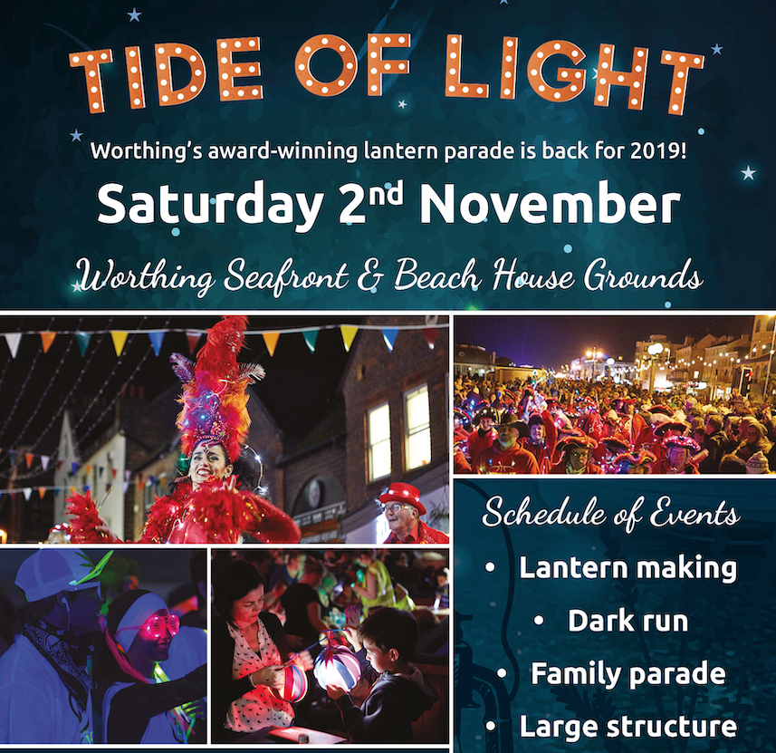 Tide Of Light Festival magazine design by Shake It Up Creative